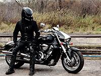 Мотошлем хищник