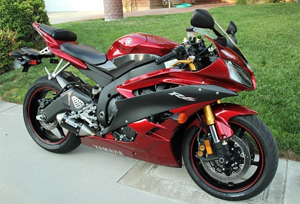 Легендарный мотоцикл из категории суперспорт Yamaha R6 - фото 14