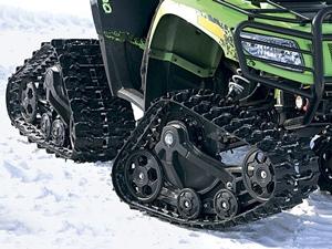 Гусеницы для квадроцикла - зимняя форма жизни для вашего вездехода