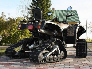 Популярные модели гусениц для квадроциклов и мотовездеходов