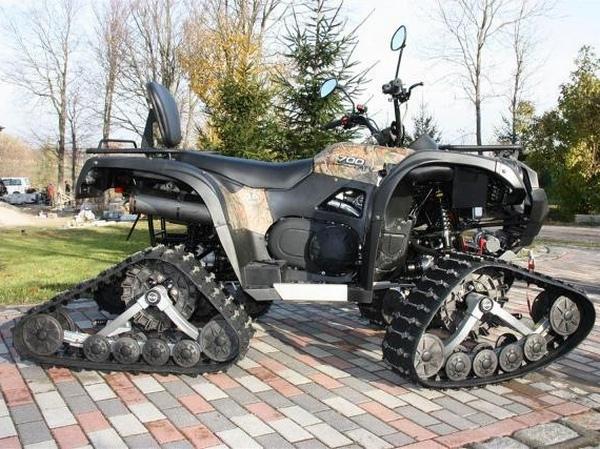 Квадроциклы на гусеничном ходу - фото 5