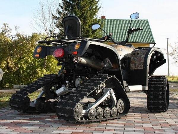 Квадроциклы на гусеничном ходу - фото 6