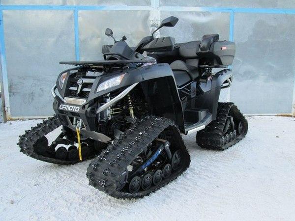 Квадроциклы на гусеничном ходу - фото 9