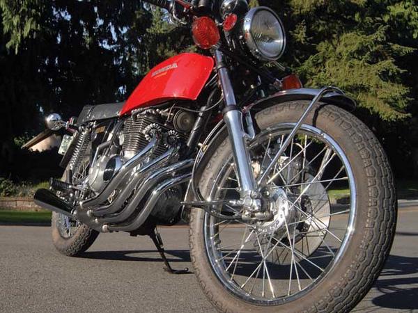 Фотогалерея Honda CB 400 - фото 14