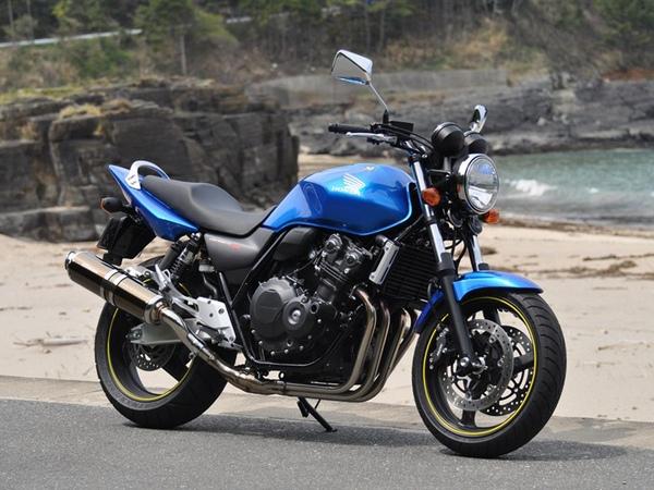 Фотогалерея Honda CB 400 - фото 19