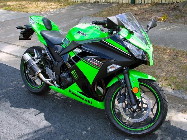 Фотогалерея Kawasaki ninja 250R - фото 2