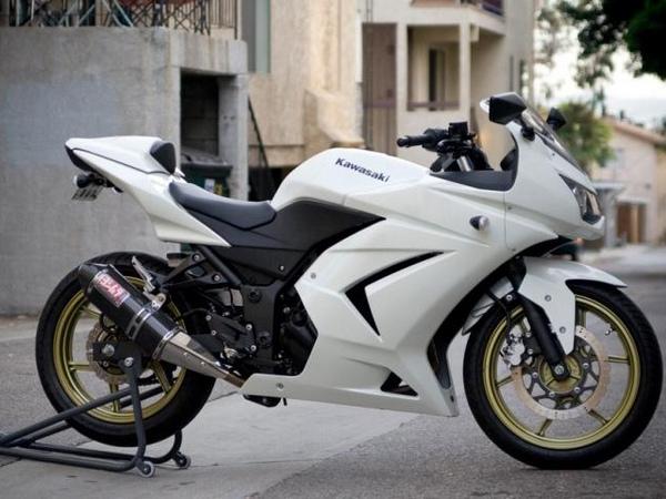 Фотогалерея Kawasaki ninja 250R - фото 23