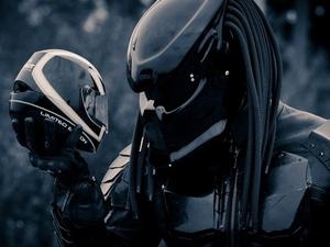Мотошлем хищник - шлем с которым хочется сфотографироваться