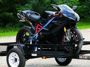 Как выбрать прицеп для первозки мотоцикла