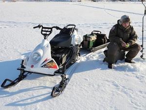 Снегоход РЫБИНКА от компании «Русская механика»