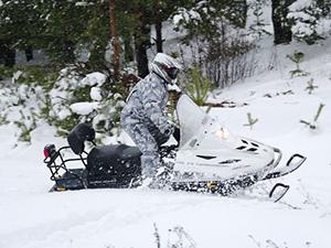 Снегоход ТАЙГА от компании «Русская механика»