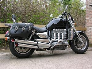 Чоппер – мотоцикл для того, чтобы производить впечатление - Triumph America или Triumph America LT