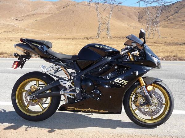 Мотоциклы Триумф фотогалерея - фото 10