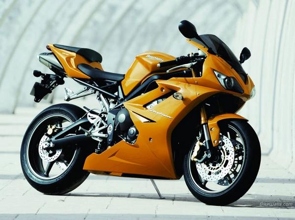 Мотоциклы Триумф фотогалерея - фото 13