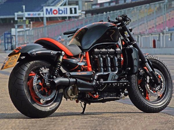 Мотоциклы Триумф фотогалерея - фото 6