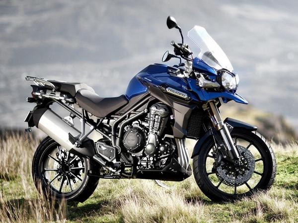 Мотоциклы Триумф фотогалерея - фото 8