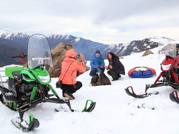 Фотогалерея мини-снегоходов - фото 6