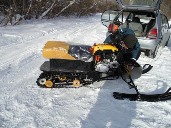 Фотогалерея мини-снегоходов - фото 9