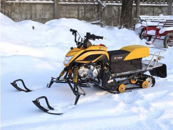 Фотогалерея мини-снегоходов - фото 14