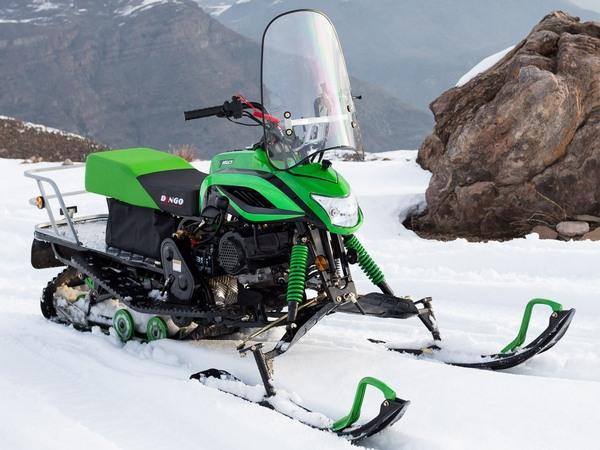 Фотогалерея мини-снегоходов - фото 1