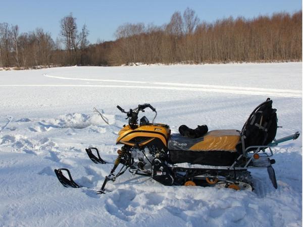 Фотогалерея мини-снегоходов - фото 2