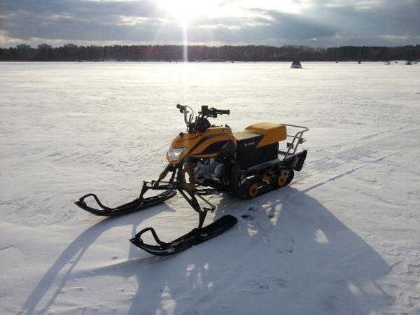 Фотогалерея мини-снегоходов - фото 4