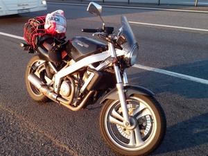 Участие байка Honda Bros 650 в соревнованиях