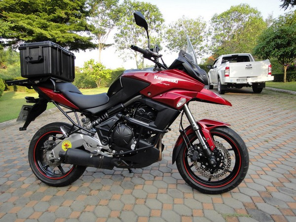 Фотогалерея Kawasaki Versys 650 - фото 5