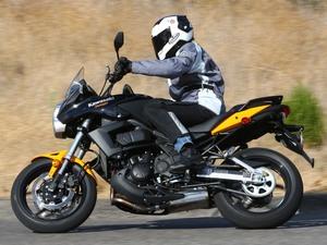 Kawasaki Versys предназначен для длительных поездок