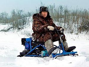 Увеличение тяговой силы на снегоходе Хаски
