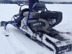 Снегоход от отечественного производителя - Хаски