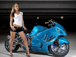 Suzuki Hayabusa (Сузуки Хаябуса) - самый быстрый мотоцикл