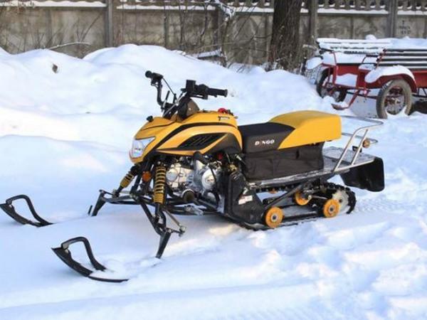Фотогалерея разборных снегоходов - фото 4