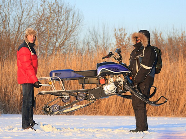 Фотогалерея разборных снегоходов - фото 21