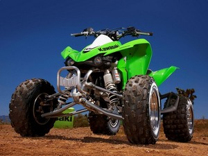 Модели Kawasaki на базе квадроциклов
