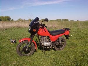 Скоростной предел мотоцикла Сова - 107 км/ч