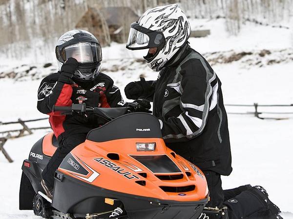 Фотогалерея снегоходов для детей фото- 5