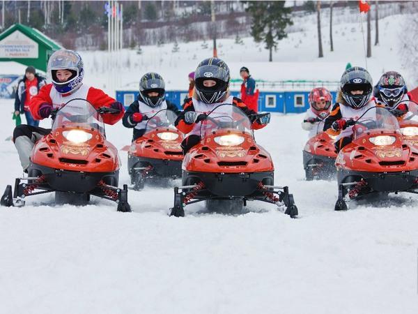 Фотогалерея снегоходов для детей фото- 12