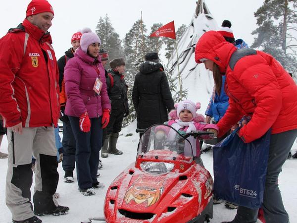 Фотогалерея снегоходов для детей фото- 19