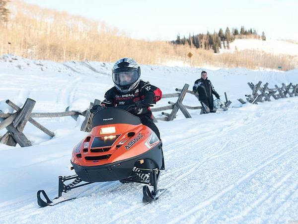 Фотогалерея снегоходов для детей фото- 3