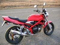 Сузуки Бандит 250 - мечта многих любителей мотоциклов