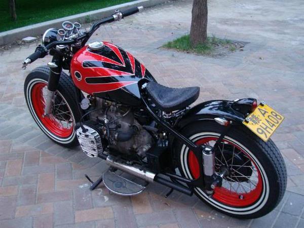 Фотогалерея мотоциклов Бобберов (Bobber) - фото 5