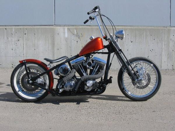 Фотогалерея мотоциклов Бобберов (Bobber) - фото 9