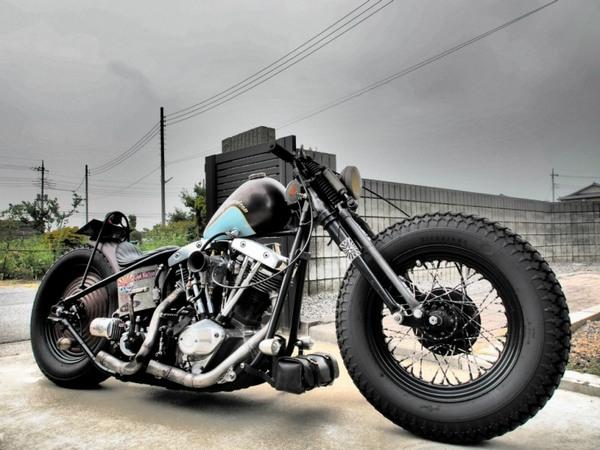 Фотогалерея мотоциклов Бобберов (Bobber) - фото 10