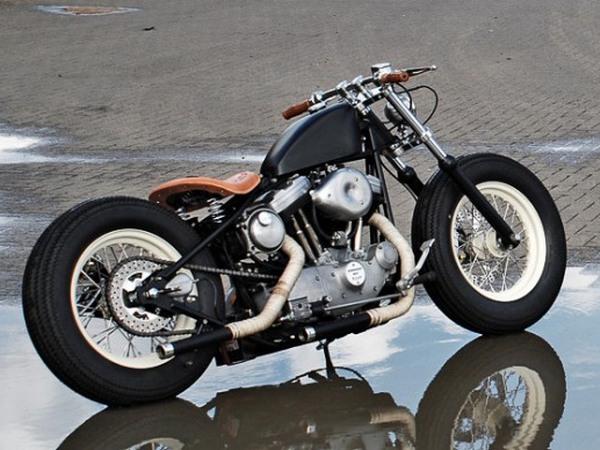 Фотогалерея мотоциклов Бобберов (Bobber) - фото 12