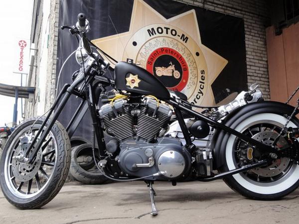 Фотогалерея мотоциклов Бобберов (Bobber) - фото 13