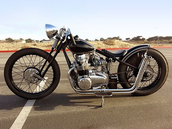 Фотогалерея мотоциклов Бобберов (Bobber) - фото 15