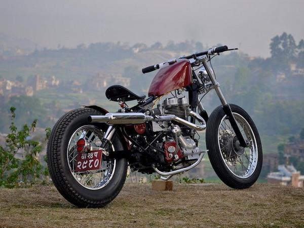 Фотогалерея мотоциклов Бобберов (Bobber) - фото 16