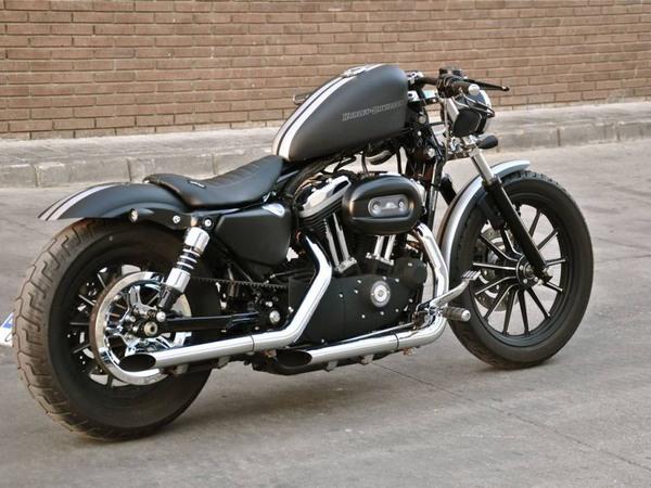 Фотогалерея мотоциклов Бобберов (Bobber) - фото 18