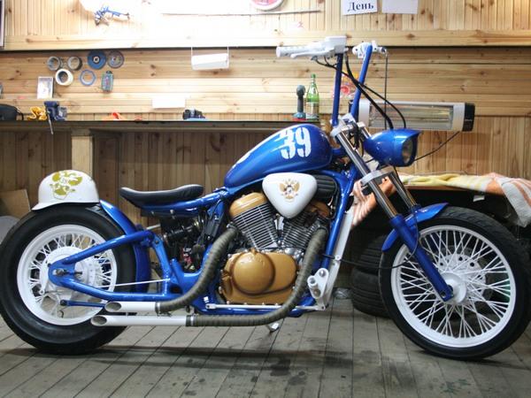 Фотогалерея мотоциклов Бобберов (Bobber) - фото 21